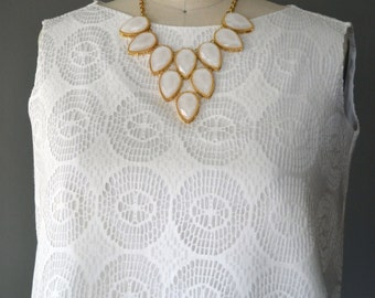 Boho Butterfly Ivory Crop Top