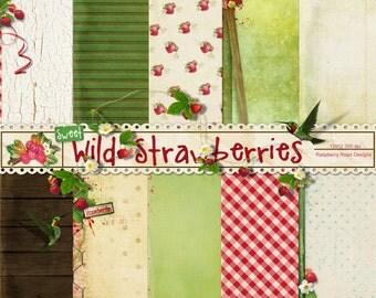 Wild Strawberries Paper Set