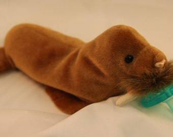 walrus pacifier holder pacimal - you choose the pacifier