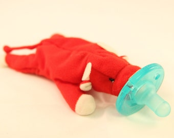 Mini teeny red bull pacifier animal pacimal - you choose the pacifier