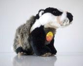 vintage Steiff DIGGY Badger EAN # 1840/26