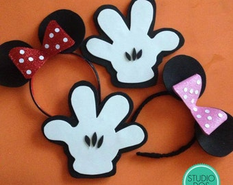 Mickey & Minnie props
