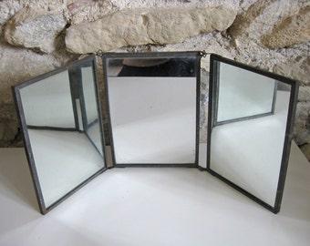Trifold Mirror Etsy