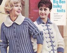 Stitchcraft Magazine 1960s Knitting Pattern, Crochet Pattern, Embroidery Pattern Book