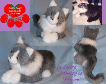 Custom Cat Look a Like Plush