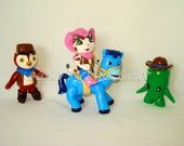 Sheriff Callie and Friends Inspired Theme Figurine Cake Topper