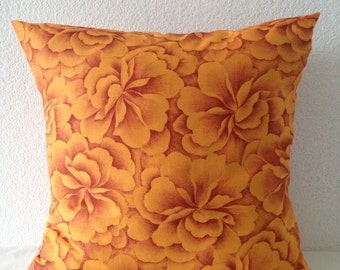 Set of 2 Pillow Covers 18x18-Free US Shipping - Floral print fabric