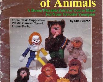 The World of Animals Plastic Canvas Pattern Plaid's 7583