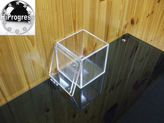 w rfel klar 6 mm thk acryl box mit deckel 30 70 zoll. Black Bedroom Furniture Sets. Home Design Ideas