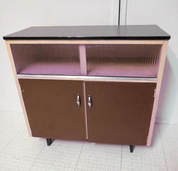 Vintage Mid Century Modern Kitchen Cabinet Baker 39 S Cabinet Cupboard
