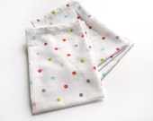 Vintage Confetti Cloth Napkins- Set of 4- Limited Edition- New Year's Eve- Party Napkins