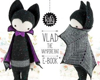 VLAD la chauve-souris vampire • lalylala patron au crochet / Halloween