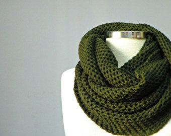 SALE, Cowl scarf, knit scarf, unisex scarves, Cowl Scarf, gift for her, chunky cowl scarf, infinity scarf, circle scarf