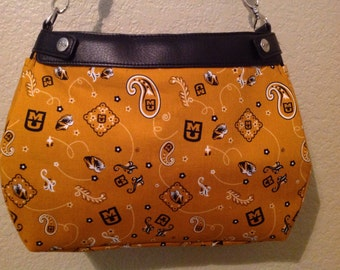 University of Missouri Mizzou suite skirt Purse skirt cover handmade