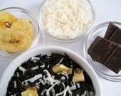 Funky Monkey Tea / Organic Black Tea / Hand Blended / Loose  Leaf / Banana / Coconut / Cacao