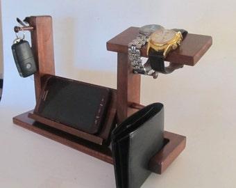 Universal Phone Dock Valet - Eyeglasses and Watch Valet