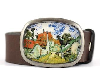 Van Gogh Belt Buckle, Art Belt Buckle, womens belt buckle, gift for her