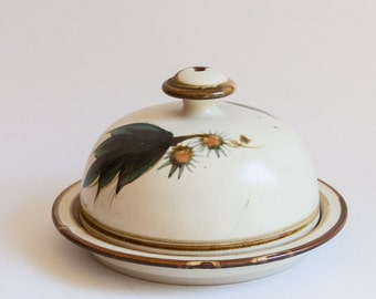 Vintage Australian Studio Pottery, Leonard Bell, Cheese Dome or Covered Plate
