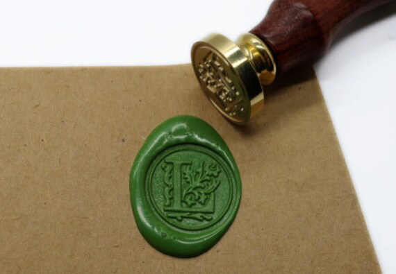letter wax seal s1102 alphabet letter l wax seal stamp sealing 23296