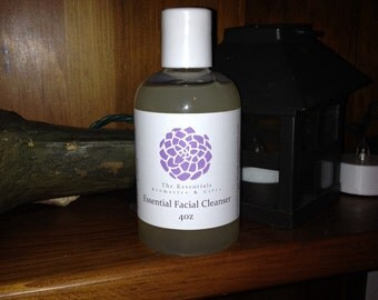 Essential facial cleanser 4oz a clear view blend