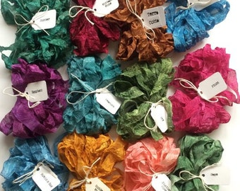 Vintage Victorian - Pick 4 - Mix & Match - Hand Dyed Ribbon