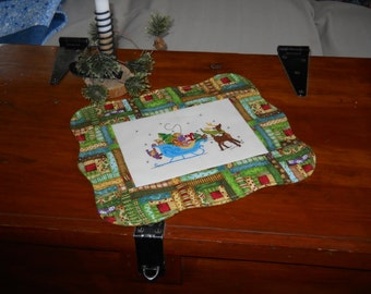Santa's Sleigh Table Topper