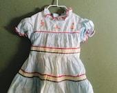 Vintage Little Girl's Dress