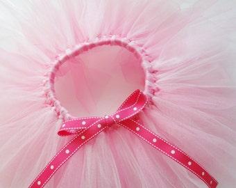 Pink Tutu Photo Prop Baby Girl Gift