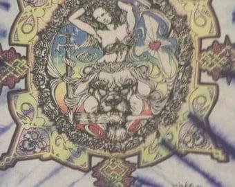 RARE Vintage MIKIO Tie-dye tshirt