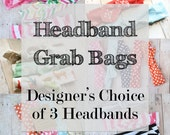 Top Knotted Headband Grab Bags by juteBaby