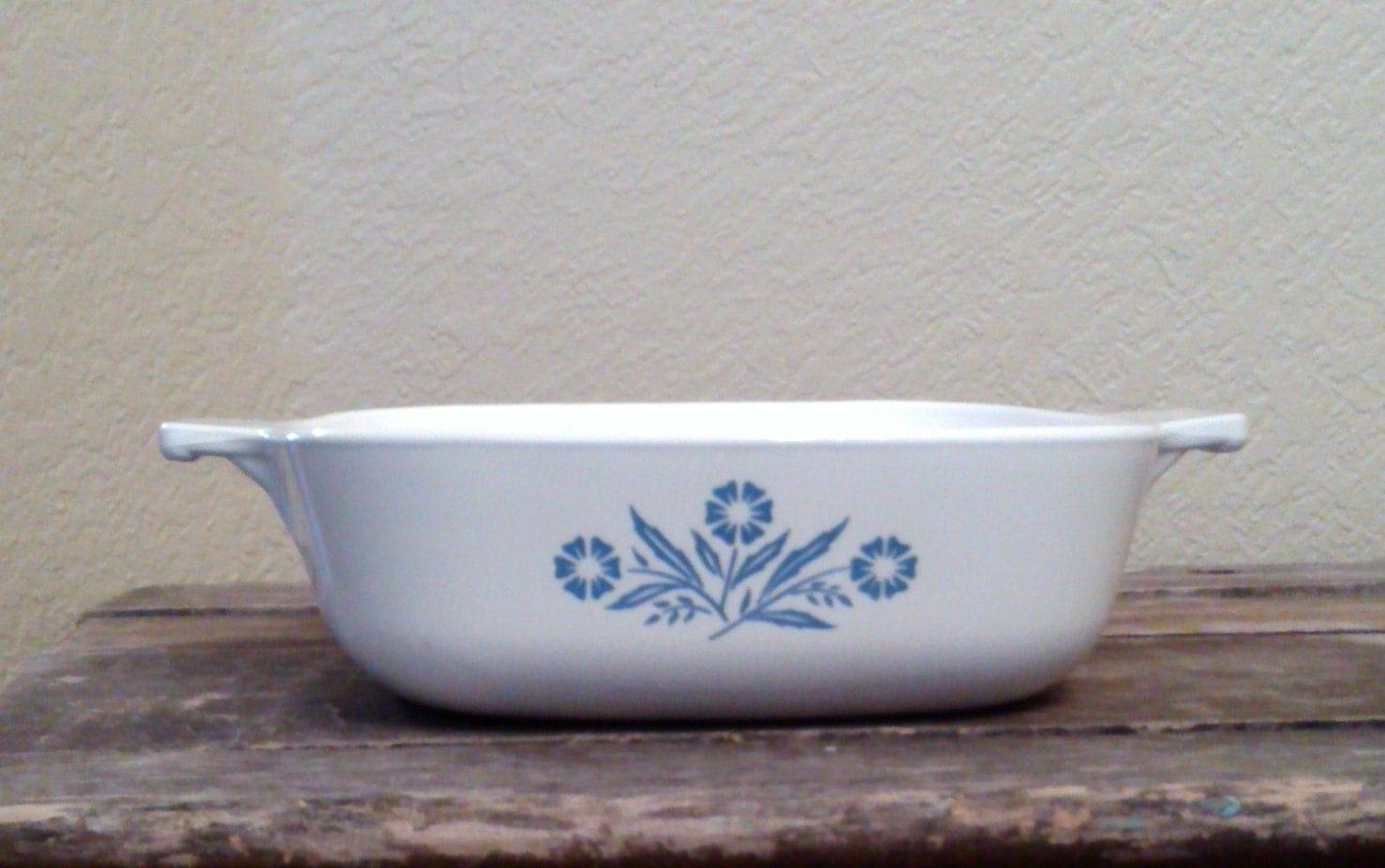 Vintage Corning Ware Pan Cornflower Blue 1 Quart By