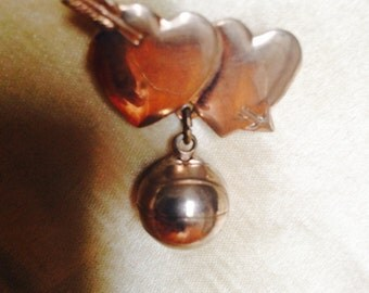Sweetheart Basketball Pin / 1950's Athletic Pin