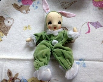 Vintage Easter Rabbit or Bunny Doll