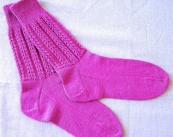 Panorama Sock Pattern, Knit PDF by Double Diamond Knits       permission to sell finished socks