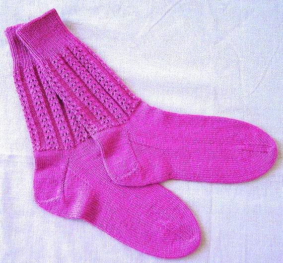 Double Knit Sock Pattern : Panorama Sock Knit PDF Pattern by Double by doublediamondknits