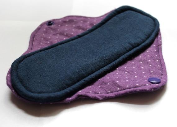 Cotton menstrual pads
