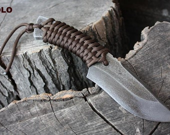 "Handmade FOF ""Solo"" working, hunting and survival knife"