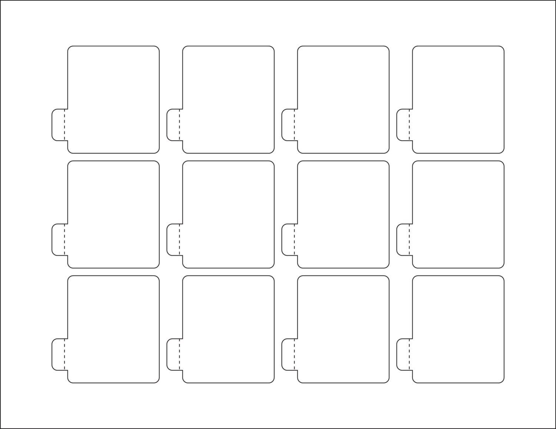lip balm chapstick label paper blank lip balm labels With blank chapstick labels