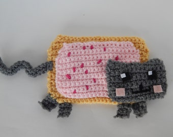 Nyan Cat PDF Crochet Pattern