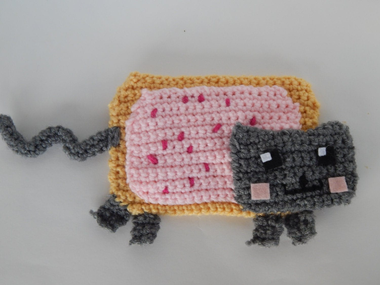 Nyan Cat Amigurumi Free Pattern : Nyan Cat PDF Crochet Pattern