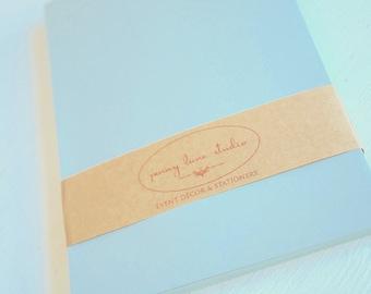 Soft Grey 5x7 inch envelopes - set of 20
