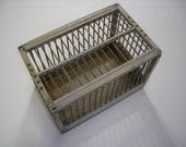 Vintage Carrier Messenger Homing Pigeon Wooden Travelling Bird Cage