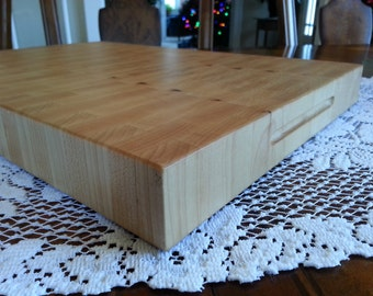 Butcher Block / Cutting Board End Grain Maple