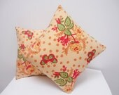 Vintage French Cushion Bedroom Lounge Cushion Cover Home Sofa Vintage Floral Cushion Square Cushion Small