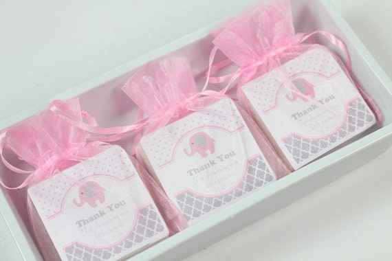baby shower favors baby elephant shower favors elephant favors pink