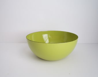 Finel Enamel Serving Bowl - Kaj Franck