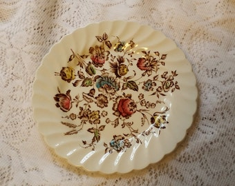 Vintage Johnson Brothers Staffordshire Bouquet Bread Plate - Made in England