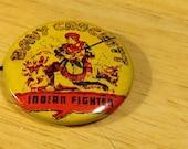 Davy Crockett - Indian Fighter Pinback Button