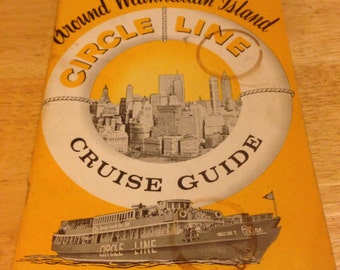 Circle Line Cruise Guide - 1962