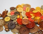 Vintage Lot over 200 Orange, Purple, Brown, Red, Maroon, Dark Red, Buttons, Buttons Vary In Shape And Size, Crafts, Projects, Design, Repair
